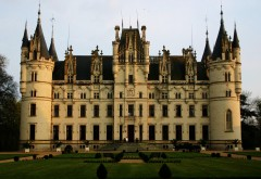 Замок, Chateau de Challain, Франция, hd обои, фото