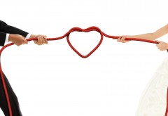 Свадебный узел, брак, сердце, любовь