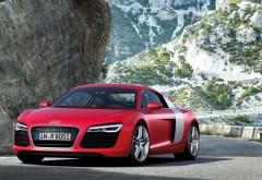 Ауди р8, Audi r8 красный спорткар