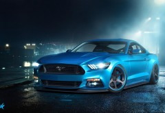 2015 Ford Mustang GT крутая тачка