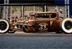 Винтажный автомобиль Hot Rod