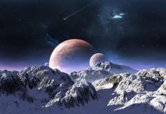 Рост планет, космос