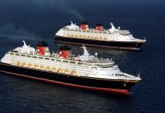 Круизные суда, океанские лайнеры, море, картинки