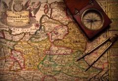 Старинная карта фото