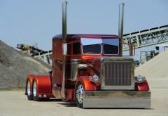 Peterbilt semi truck грузовик обои