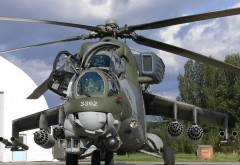 Ми-24 Русский военный вертолет hd обои