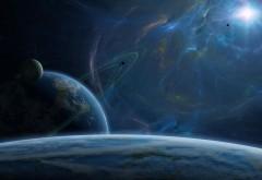 скачать заставку космос