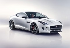 Jaguar F-TYPE R Coupe белое авто