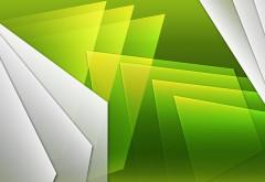 белый и зеленый фон