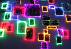 Бойцовский клуб, абстрактный узор, неоновые картинки, �…