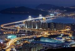 Кванан, Висячий мост, Суёнгу, Республика Корея