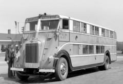 1930 Pickwick Duplex Nite Coach Bus Transport Semi Tractor Retro