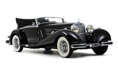 1935 Mercedes-Benz 500K Кабриолет люкс Ретро бесплатно Фон
