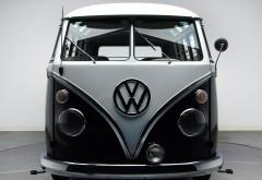 1963 67 Volkswagen Deluxe Samba Bus Van Classic Socal Lowrider Custom Dg wallpaper