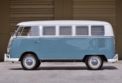 67 Volkswagen Делюкс Бус фургон 1963 Классическая картина высо…