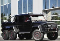 6x6, Mercedes-Benz, brabus, внедорожник