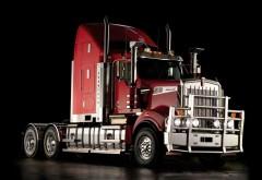 Kenworth W900, тягач, грузовик