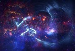 Абстракция космического пространства Фото