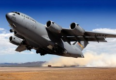 wallpaper Airforce C-17 Globemaster