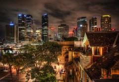Австралия, театр, сиднейский ночники, здания, небоскре�…