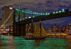 Бруклинский мост Ист-Ривер