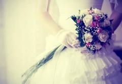 свадебный букет, цветы, перчатки, свадьба