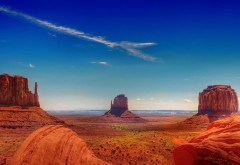 каньоны, красный песок, каньон