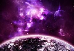 фиолетовый космос