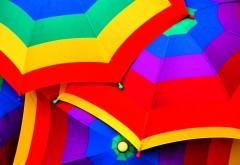 зонтики радуги