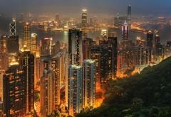 Гонконг ночью заставки бесплатно скачать
