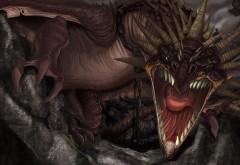 страшный дракон широкоформатные картинки