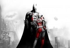 Бэтмен и Харли Квинн Batman Arkham город