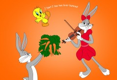 Bugs Bunny Looney Tunes Tweety Gj HD Resolution Widescreen
