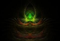green fractals Free wallpaper desktop