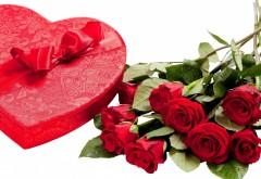 День Святого Валентина подарок розы любовь