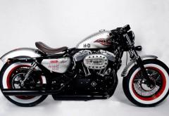 Мотоцикл, белый фон, Harley Davidson, картинки, бесплатно