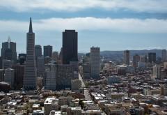 Город Сан - Франциско обои на рабочий стол
