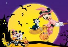 Дисней мультфильм, Микки, Микки Маус, праздник, Хэллоуин