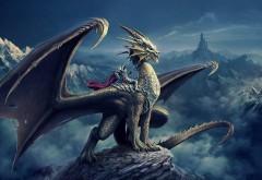 дракон всадника картинки на рабочий стол