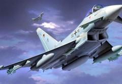 Eurofighter Typhoon Twin Истребитель картинки на рабочий стол