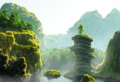 фантазия, природа, мир