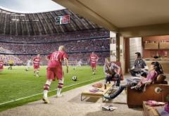 Смотреть футбол на стадионе в домашнем кресле картинк�…