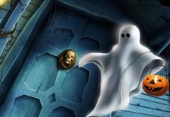 призрак, мультфильм, Хэллоуин