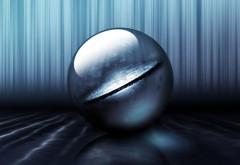 серый шар бесплатно обои