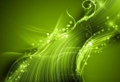 Сверкающие зеленые линии фон