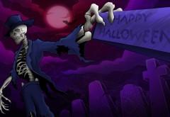 хэллоуин скелет