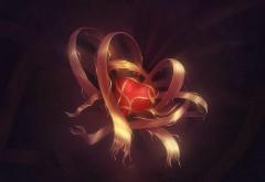 сердце в рваных лентах