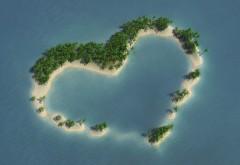 Сердце Форма Остров Роялти