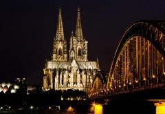 Мост Гогенцоллернов, ночь, свет