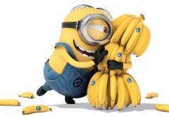 Гадкий я, миньон, банана